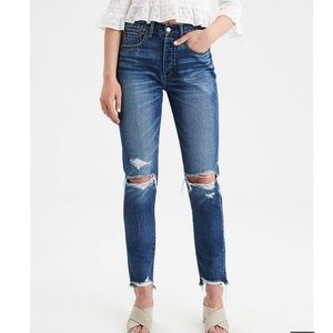American Eagle NWT Hi-Rise Girlfriend 2 x-long